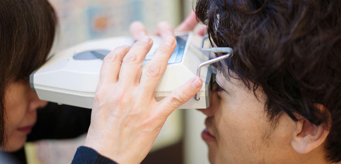 これまでのメガネは「お疲れメガネタイプ」という判定に…。