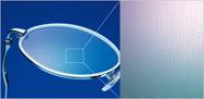 UVカット効果のあるメガネレンズ