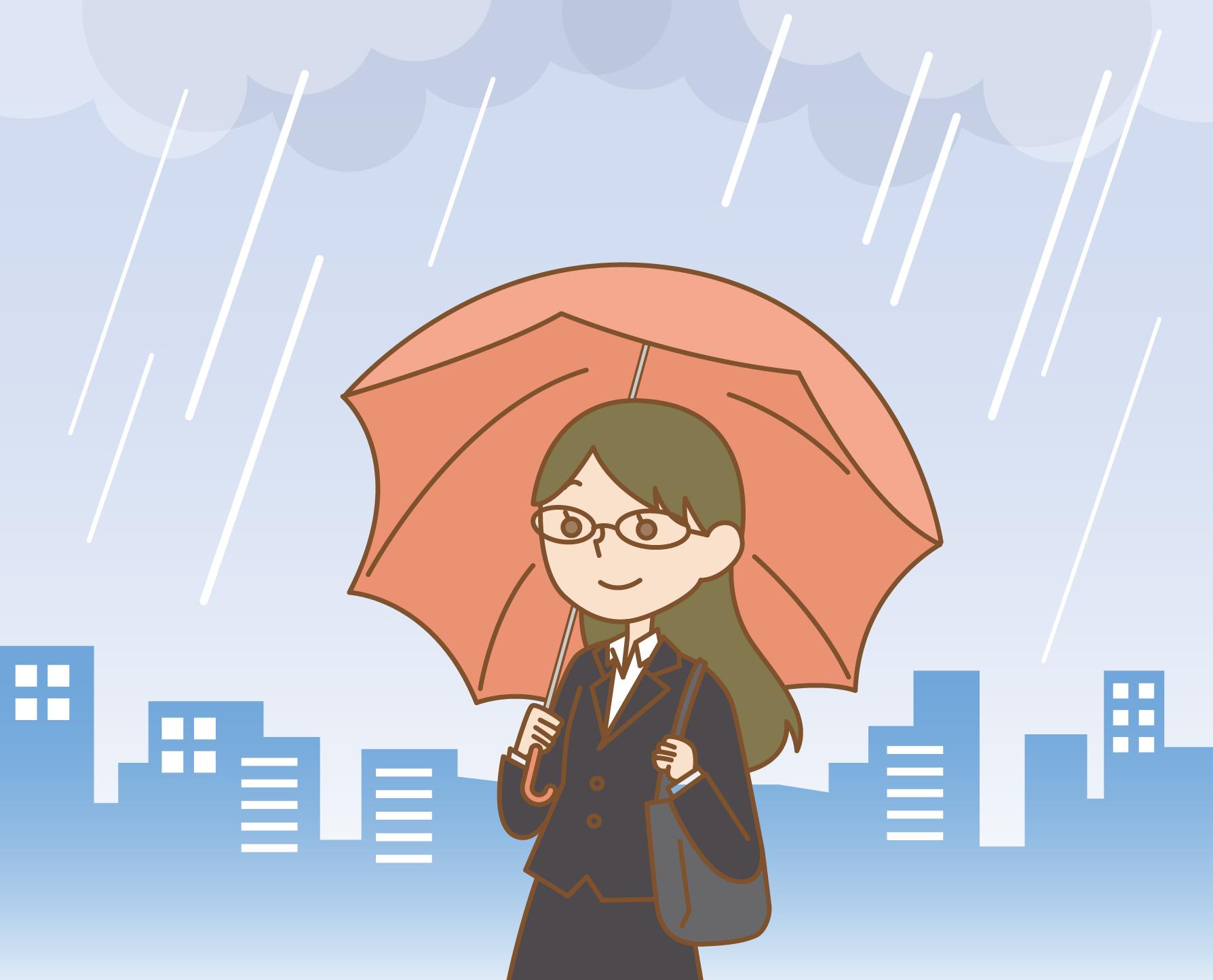 曇りや雨天の眼のUV対策