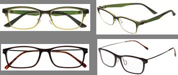 メガネフレームは、ある程度の大きさとフィット感が大切!